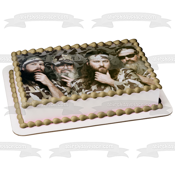 Duck Dynasty Phil Willie Si Jep Robertson Edible Cake Topper Image ABPID04683