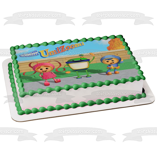 Team Umizoomi Millie Geo Bot Edible Cake Topper Image ABPID04717