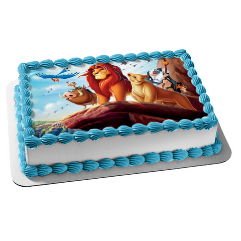 Disney The Lion King Simba Edible Cake Topper Image ABPID04912