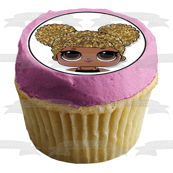 LOL Surprise Logo Dolls Diva Edible Cupcake Topper Images ABPID03991