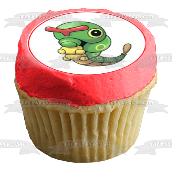 Pokemon Pikachu Bulbasaur Squirtle Charmander Edible Cupcake Topper Images ABPID04037