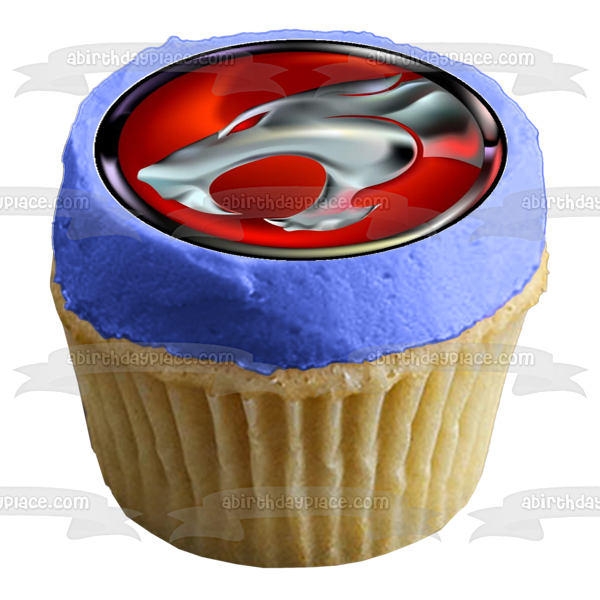 Thundercats Lion-O Panthro Snarf Edible Cupcake Topper Images ABPID04208