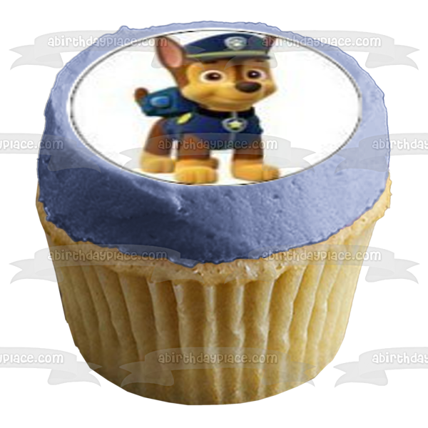 Paw Patrol Chase Zuma Skye Marshall Rubble Rocky Edible Cupcake Topper Images ABPID04595