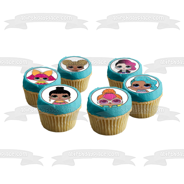 Lol_Surprise Queen Bee Kitty Queen Lil Sugar Edible Cupcake Topper Images ABPID05823