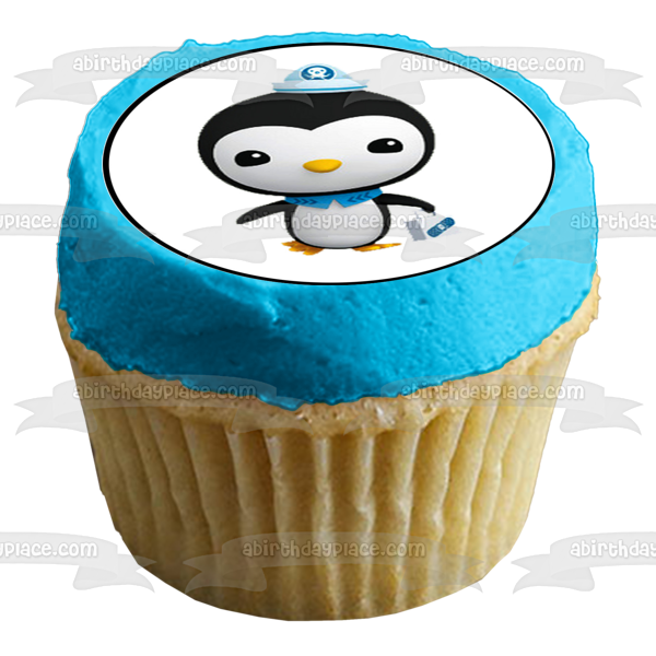 Octonauts Peso Penguin Barnacles Bear Kwazii Cat Tweak Bunny Edible Cupcake Topper Images ABPID06130