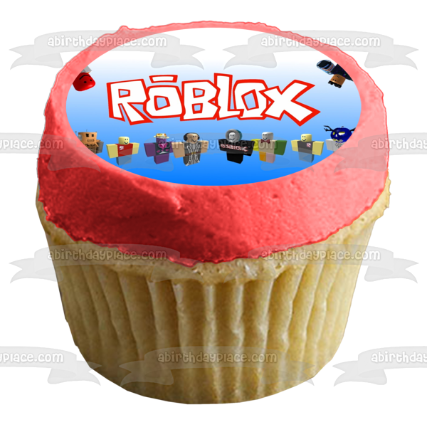 Roblox Custom Player Happy Birthday Edible Cake Topper Image ABPID00150