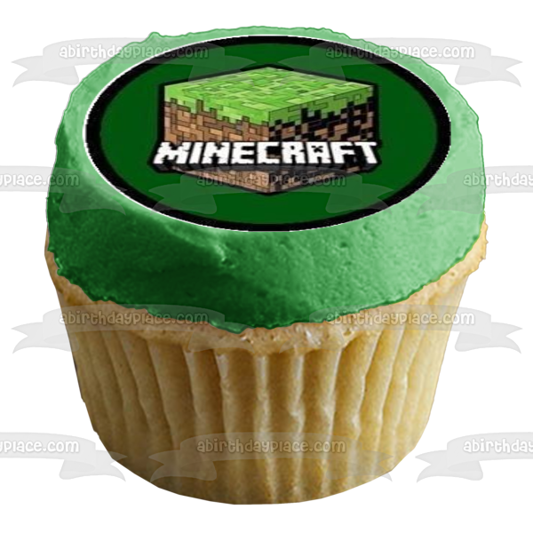 Minecraft Steve Creeper Faces Minecraft Block Skeletons Edible Cupcake Topper Images ABPID51394