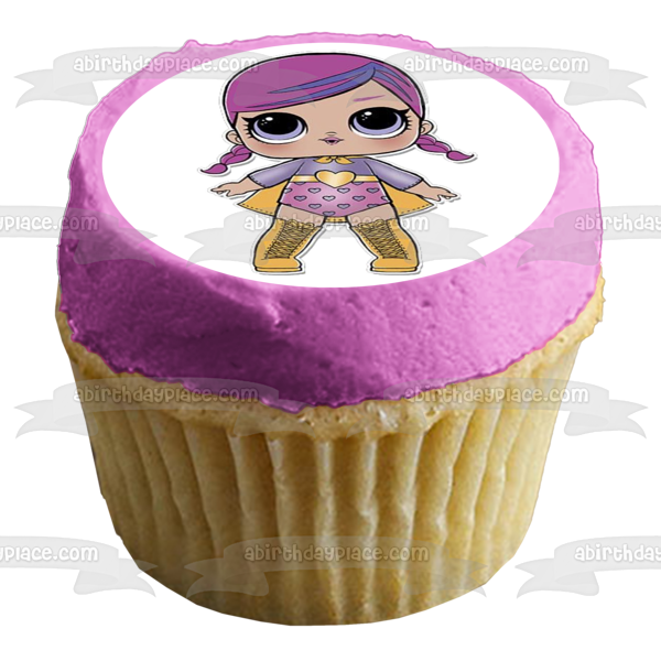 LOL Surprise Doll Super B.B. Edible Cake Topper Image ABPID00007