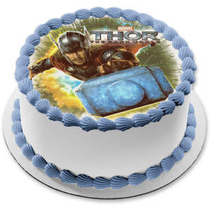 Marvel Thor the Dark World Edible Cake Topper Image ABPID04425