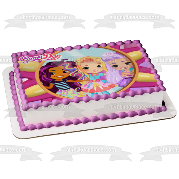 Sunny Day Blair Rox Edible Cake Topper Image ABPID06654