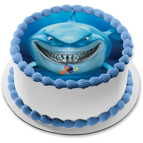 Finding Nemo Dory Marlin Bruce Edible Cake Topper Image ABPID07508