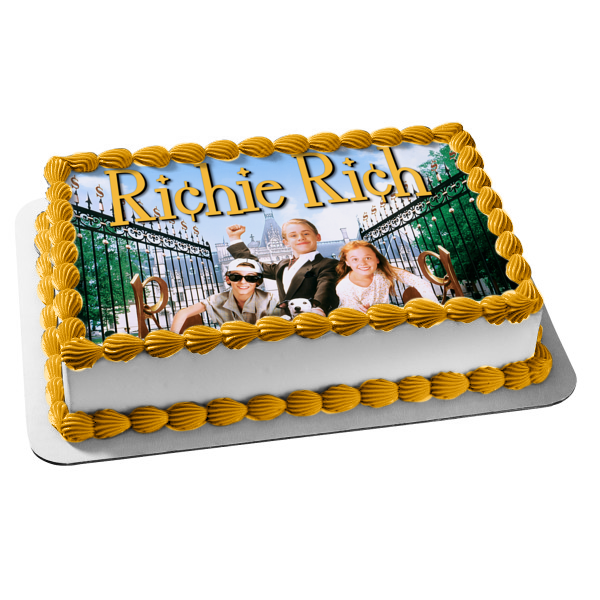 Richie Rich Movie Mansion Edible Cake Topper Image ABPID07545
