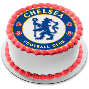 Chelsea Football Club Logo Premier League Crests Edible Cake Topper Image ABPID03211