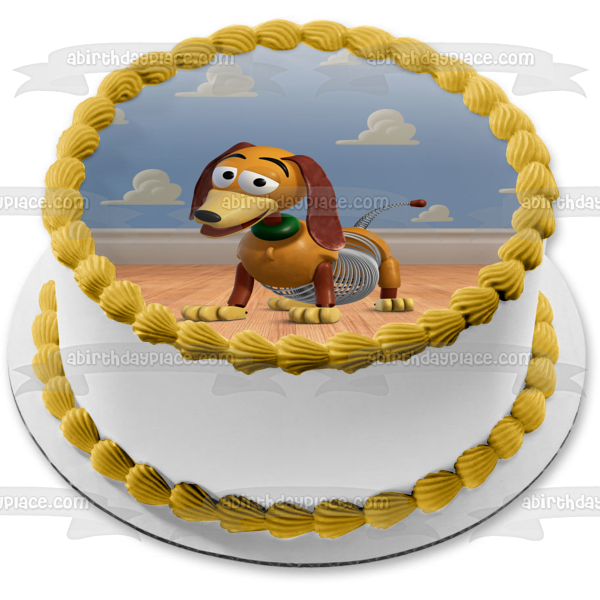 Toy Story Slinky Edible Cake Topper Image ABPID49728