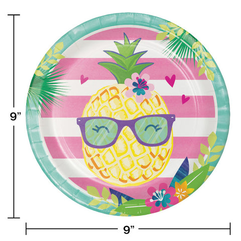Pineapple 'n' Friends Party Plates