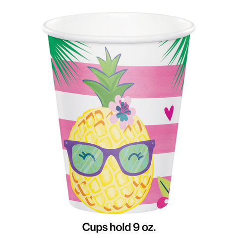 Pineapple 'n' Friends Printed Cups