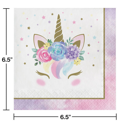 Unicorn Baby Luncheon Napkins