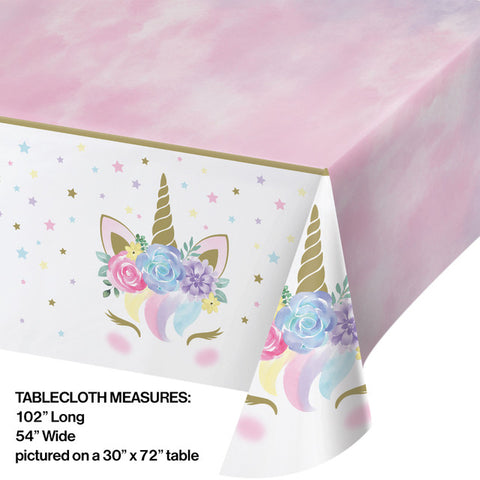 Unicorn Baby Table Covering