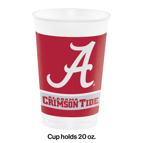 University of Alabama Printed Plastic Cups
