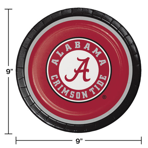 University of Alabama Party Plates