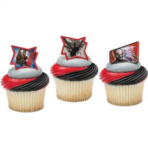 Ant-Man Redemption Cupcake Rings (9 pieces)
