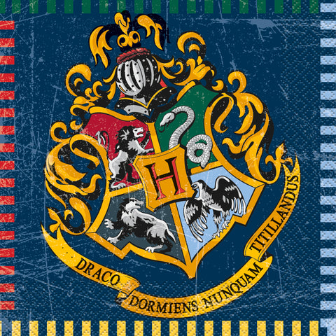 16 Harry Potter Luncheon Napkin