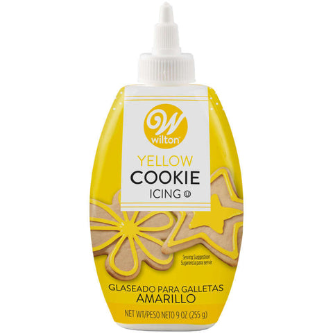 Yellow Cookie Icing, 9 oz.