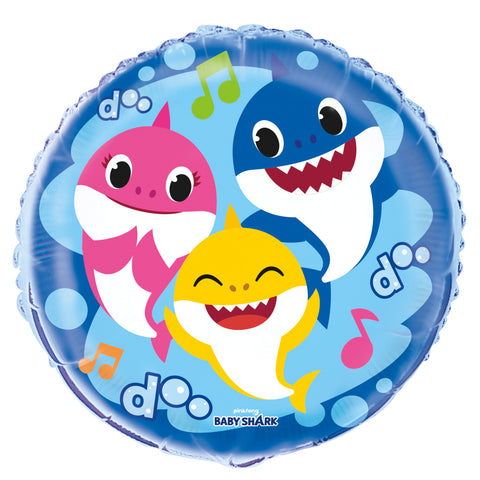 "18"" Baby Shark Foil Balloon"