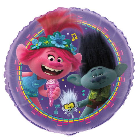 "18""  Foil Trolls World Tour Balloon"