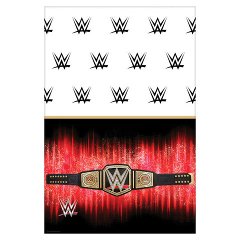 WWE Smash Table Cover Plastic