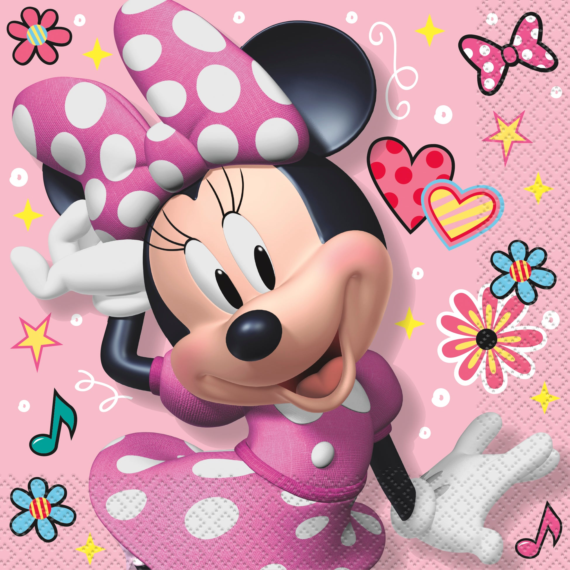 16 Minnie Mouse Luncheon Napkin