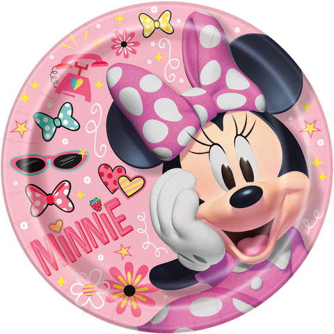 "8 Minnie Mouse 9"" Plate"