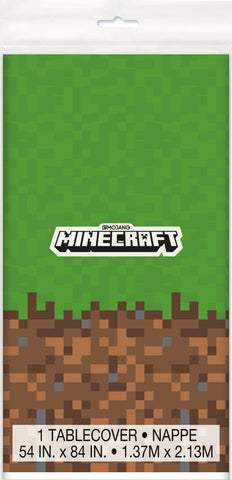 Minecraft Plastic Tablecover 54X84