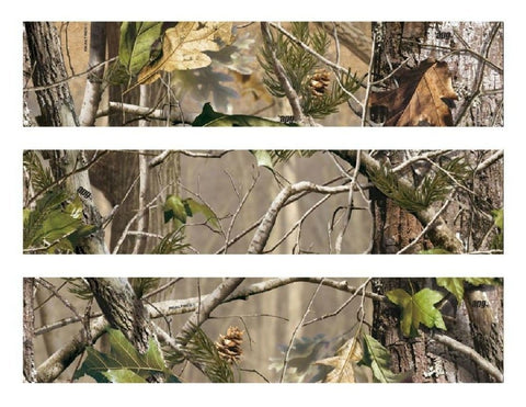 Realtree Apg Camo Camouflage Leaves Trees Edible Cake Topper Image Strips ABPID00630