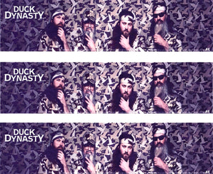 Duck Dynasty Robertson Family Duck Commander Edible Cake Topper Image Strips ABPID03260