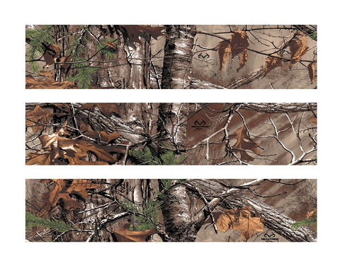 Realtree Xtra® Camo Warm Natural Colors Fall Winter Early Spring Edible Cake Topper Image Strips ABPID04262