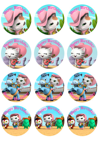 Sheriff Callie Party Decoration Prop Cutouts 1 ONE Sheriff Callie, Deputy Peck, Toby, Sparky or choose your own