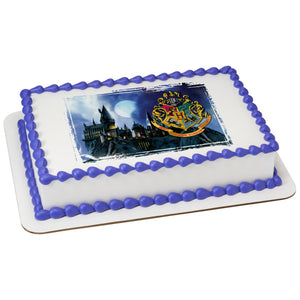 HARRY POTTER™ HOGWARTS™ Picturesque Edible Cake Topper Image
