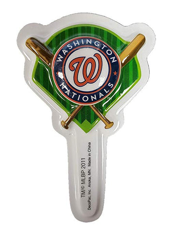 MLB Washington Nationals DecoPics Cake Picks (12 count)