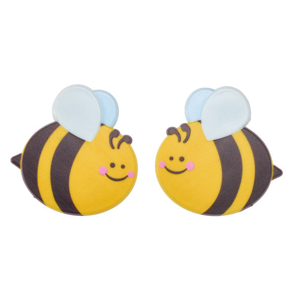 A Birthday Place - Cake Toppers - Bee Cuties Assortment Layon