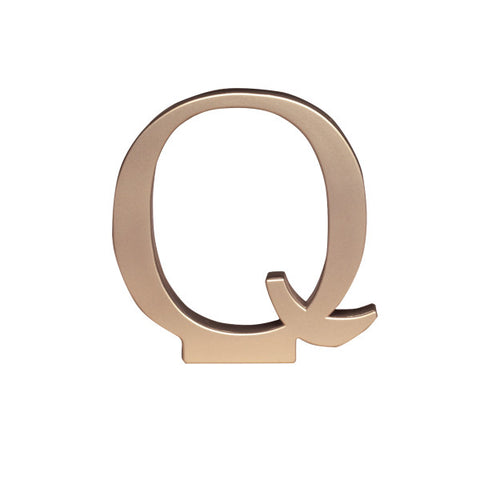A Birthday Place - Cake Toppers - Letter Q Monogram