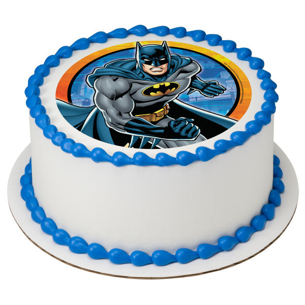 Batman™ Kaa-Boom Edible Cake Topper Image