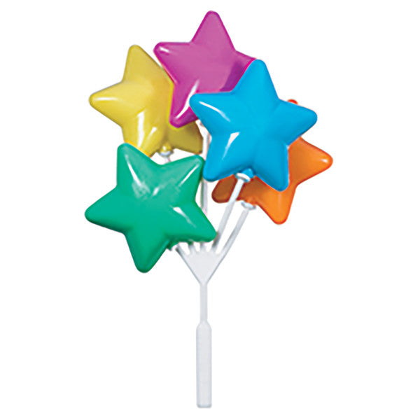Brights Star Shaped Balloon Cluster DecoPics®