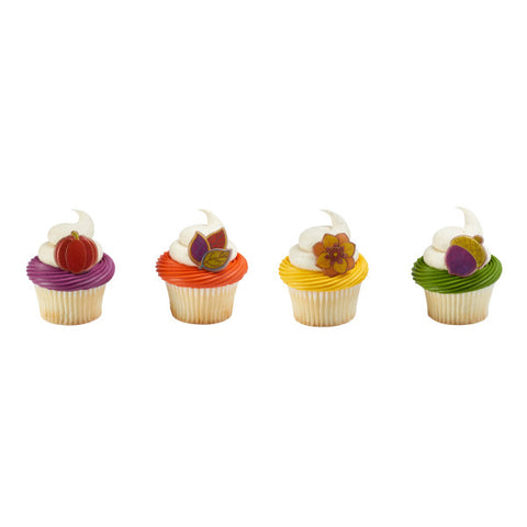 Harvest of Hues Cupcake Rings