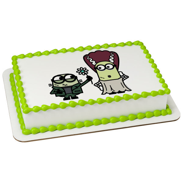 Minions-Monsters Edible Cake Topper Image