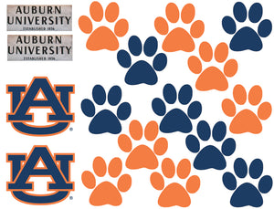 Custom Auburn University Logos, Signs, and Paws