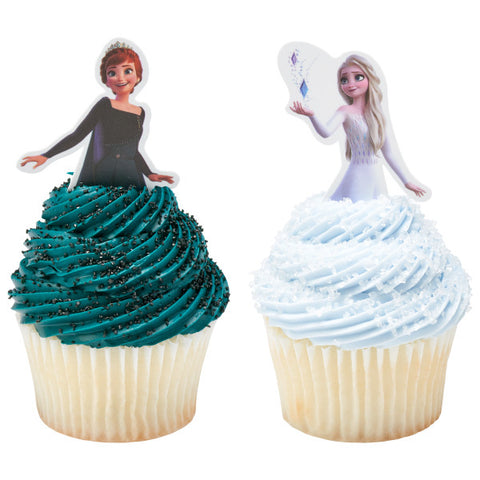 Disney Frozen II Anna and Elsa Poly DecoPics®