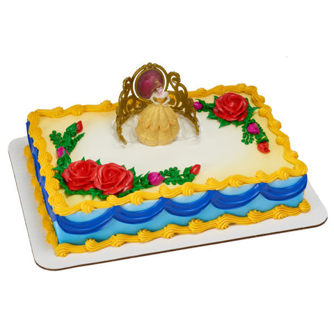 A Birthday Place - Cake Toppers - Disney Princess Belle Beautiful as a Rose DecoSet®