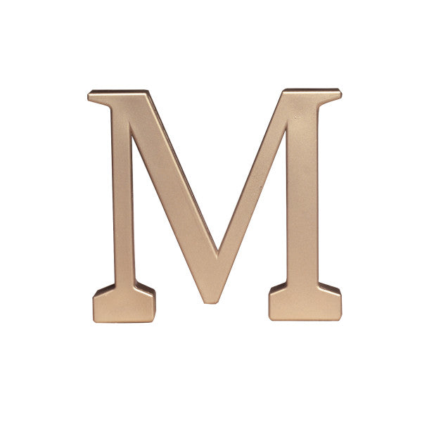 A Birthday Place - Cake Toppers - Letter M Monogram