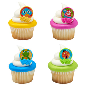 Spring Friends Cupcake Rings